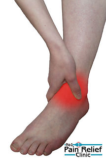 Ankle pain relief