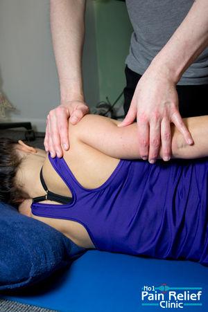 Shiatsu ay The No1 Pain Relief Clinic, Derbyshire