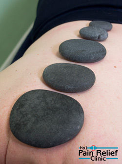 Stone therapy massage in Buxton