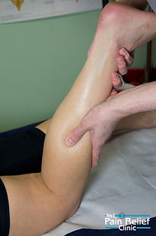 Sports massage at the No1 Pain Relief Clinic
