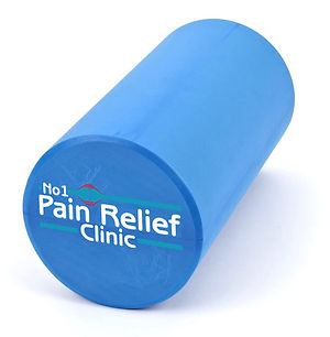 Foam rolling at The No1 Pain Relief Clinic, Buxton