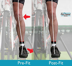 The importance of correct foot position on pedal
