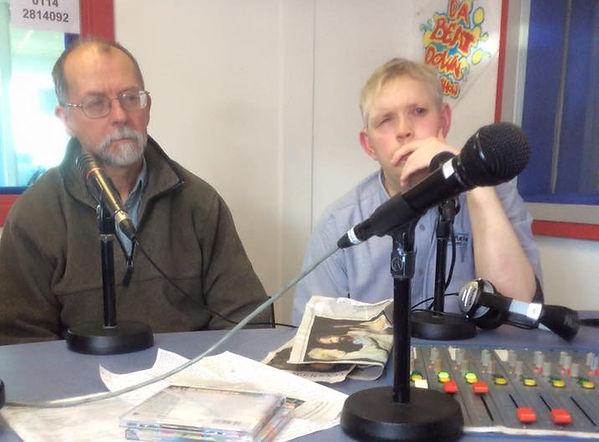 Nick Mulryan on Radio Sheffield