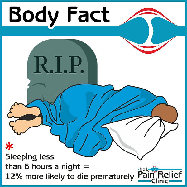 Body fact about sleep