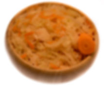 Sour cabbage with carrot