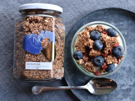 Pure granola van Naturally Granola