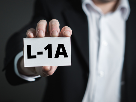 L-1 Intracompany Transferee Visa For Executives, Managers, and Employees with Specialized Knowledge