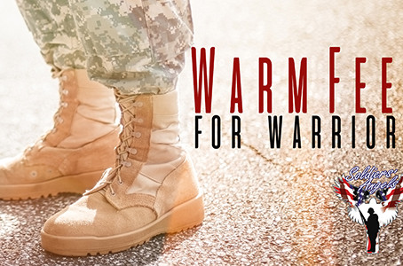 Support Our Troops for President's Day by Donating to Warm Feet for Warriors