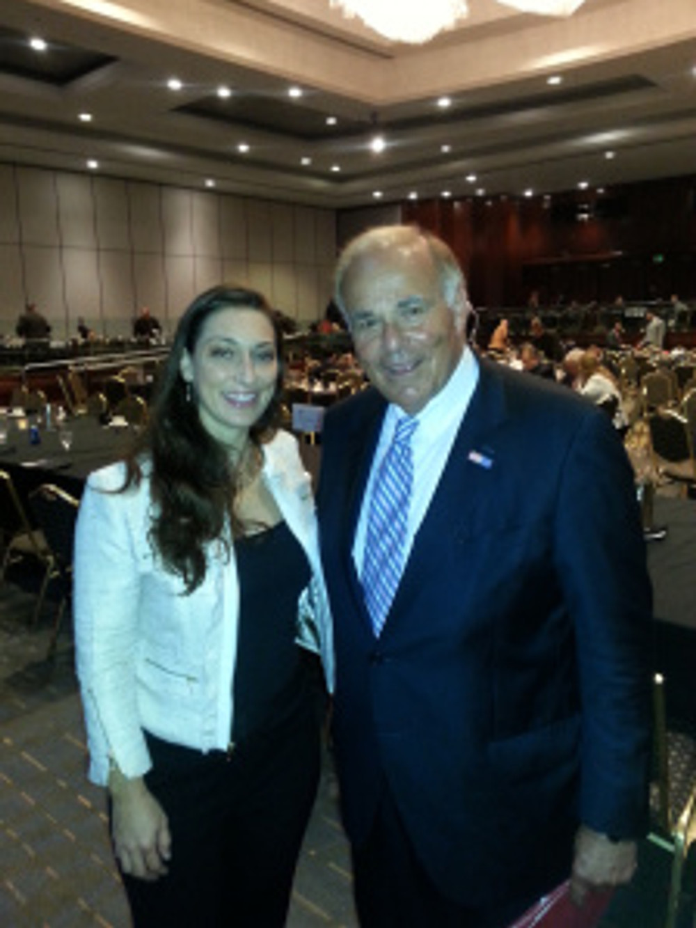 Jennifer Grady, Esq. with Former Pennsylvania Governor Ed Rendell.