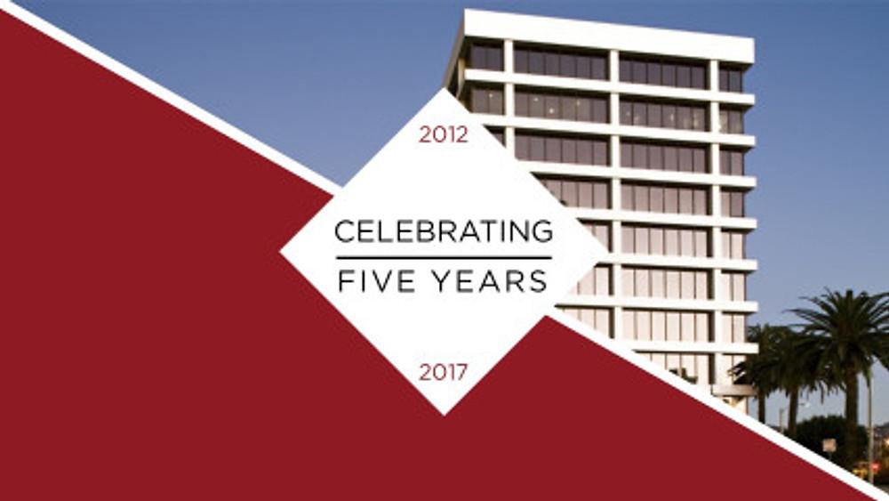 5th Anniversary Slide #2
