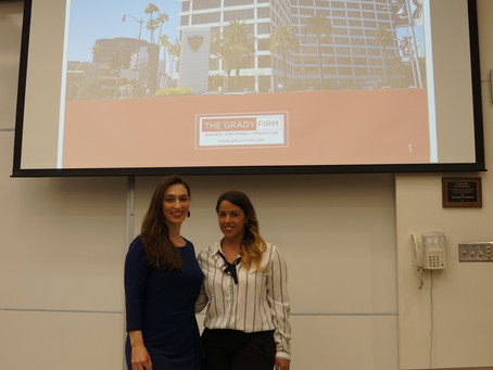 The Grady Firm Speaks to USC Gould Law School LLM Students