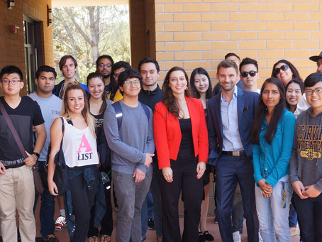 The Grady Firm Attorneys Speak to Students at UCI Blackstone Launch Pad on business and visa options