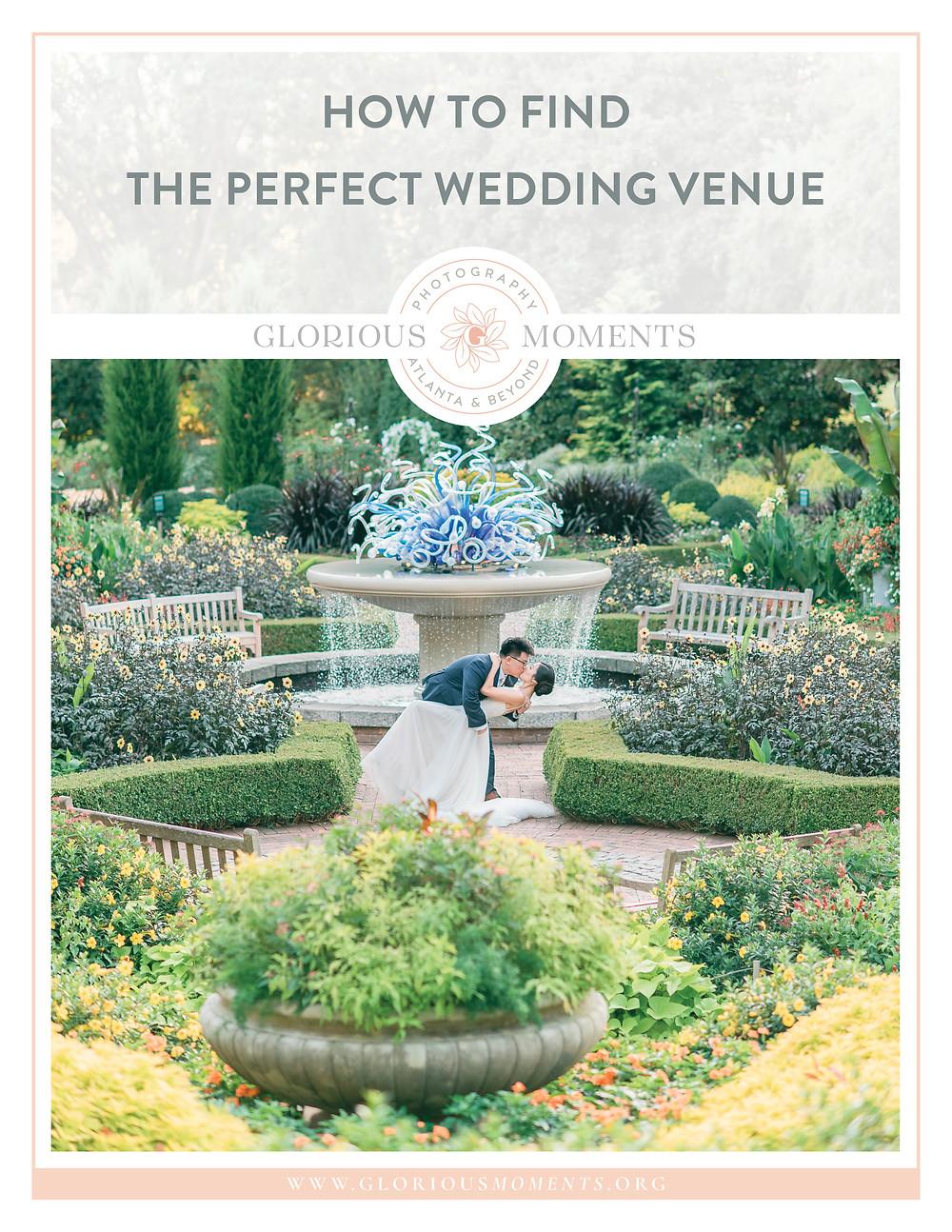 atlanta botanical garden-how to choose the perfect wedding venue