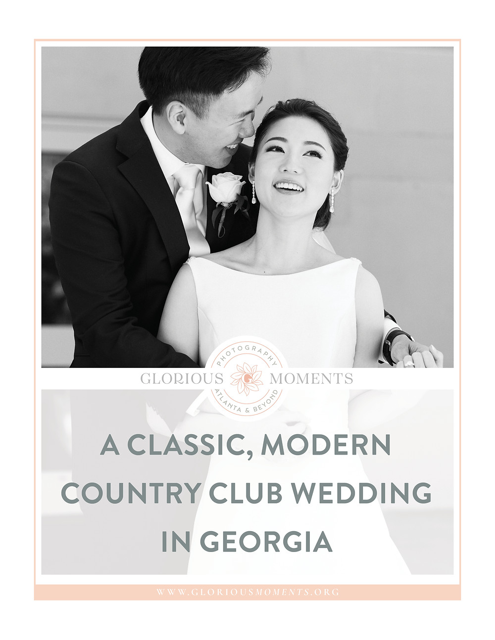 a classic, country club wedding at the country club of the south wedding in georgia
