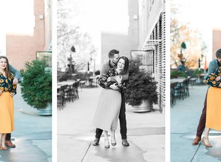 Rachel + Nathan | Engagement Session at Westside Provisions Atlanta | Glorious Moments Photography