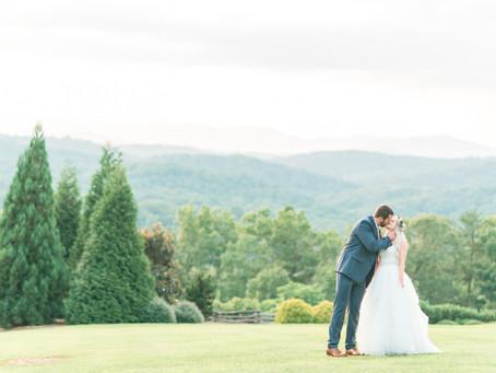 Blue Mountain Vineyard Wedding (1)   Hayley + Ian   Atlanta Wedding Photographer