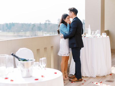 A Romantic Surprise Chateau Elan Proposal | Justin and Jennifer | Glorious Moments Photography