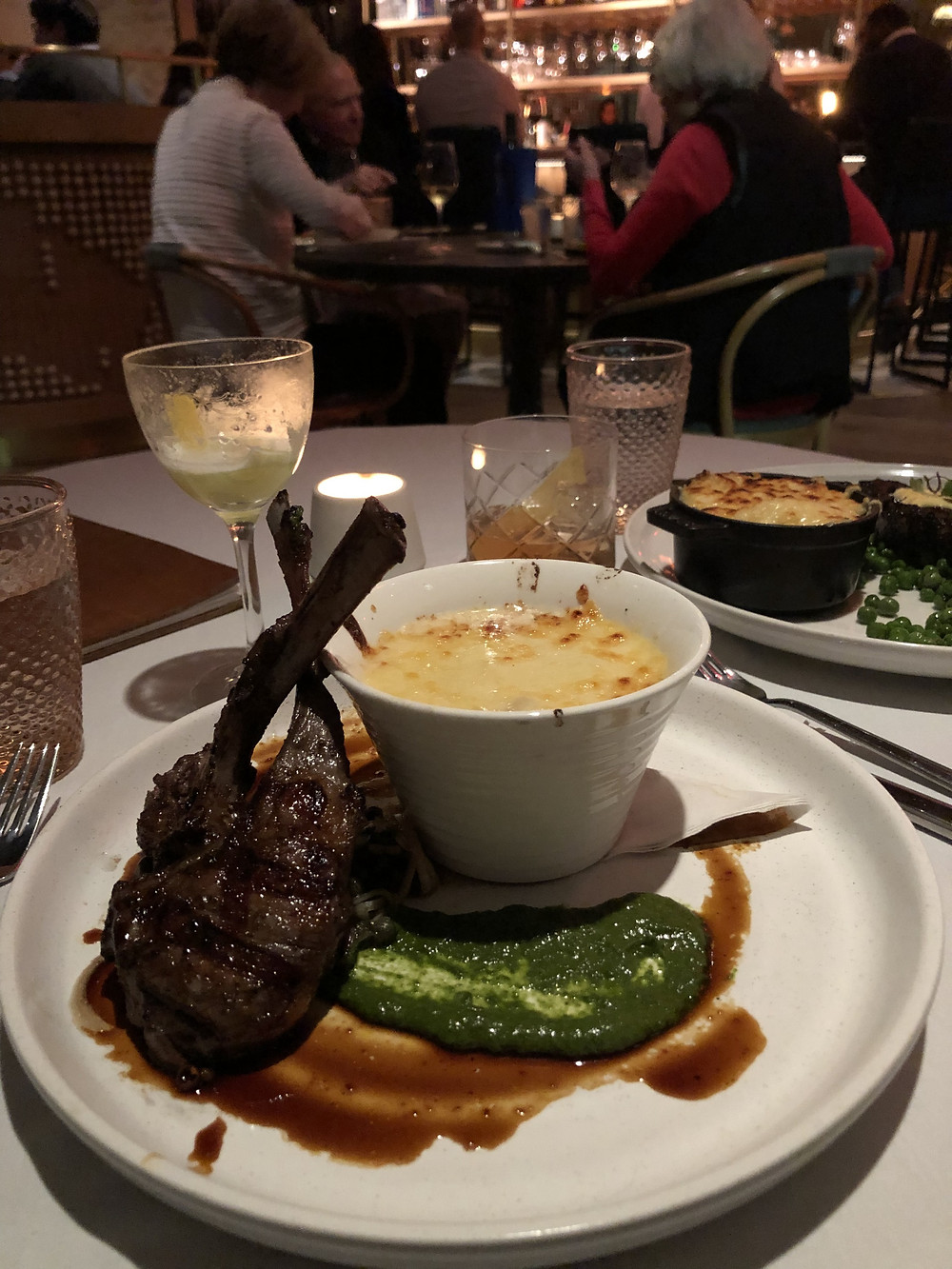 lamb chop at aix so good things to do in atlanta for valentines day.