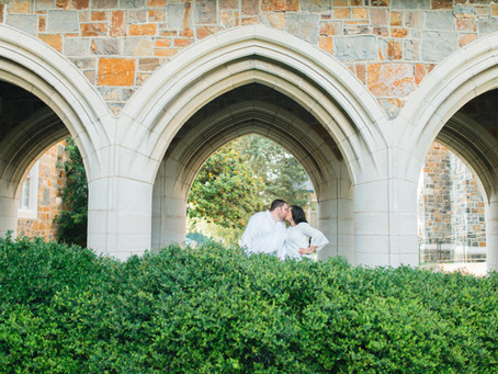 Xiomara and Zach Engagement Session at Berry College, Rome, Georgia | Glorious Moments Photography