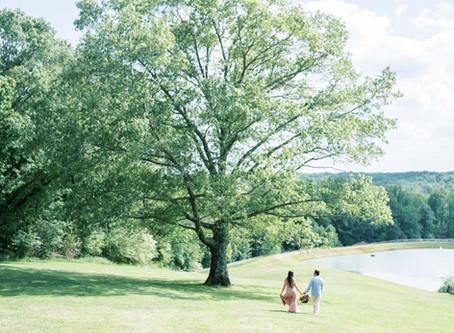 Tyna + Erick | A Romantic Montaluce Winery Engagement Session | Atlanta Wedding Photographer