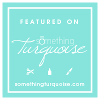 featured on something turqoise