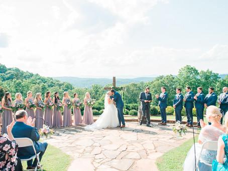 Blue Mountain Vineyard Dahlonega Wedding (2) | Ian + Hayley | Glorious Moments Photography