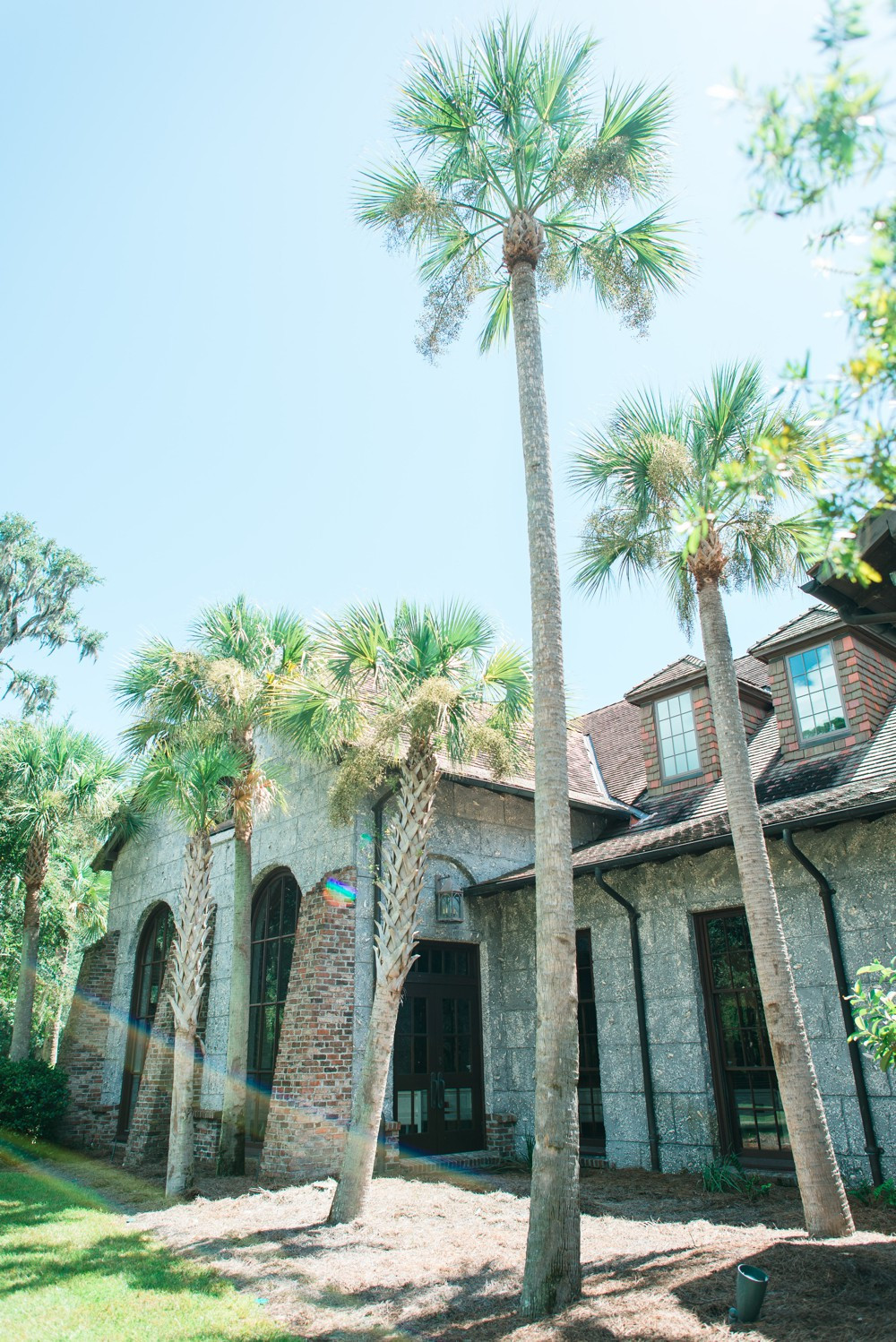 A Destination Wedding at St. Simons Island wesleyan methodist church