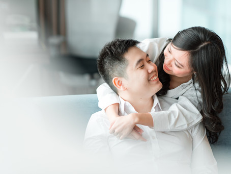 Cozy, At-Home Engagement Session | Holiday Inn Kemayoran, Jakarta