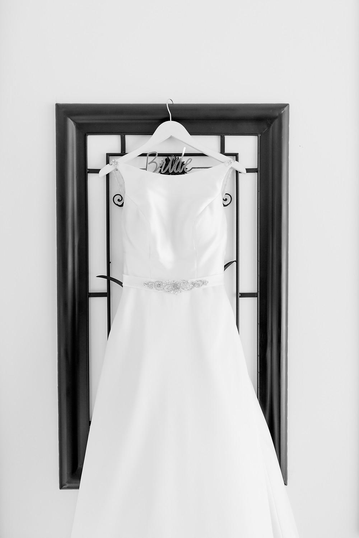 beautiful white wedding dress by mori lee