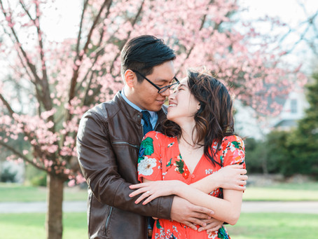 Alyssa + Alex | Downtown Duluth Engagement Session | Atlanta Wedding Photographer