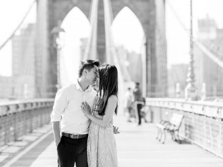 Jesslyn and Gary | A Cozy, Summer Central Park Engagement Session | Glorious Moments Photography