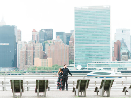 He First Loved Us | NYC Engagement Session | Tim + Stephanie | NYC Wedding Photograper