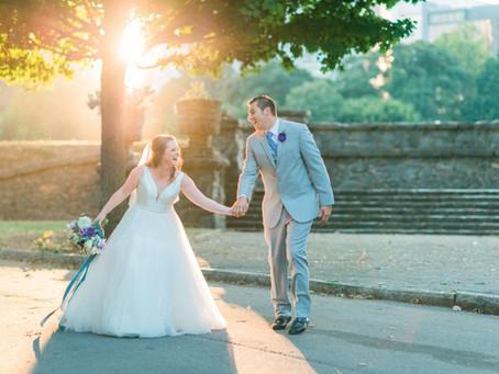 Leah and Lawrence | Intimate Wedding at Piedmont Park, Atlanta, GA