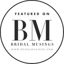 featured on bridal musings