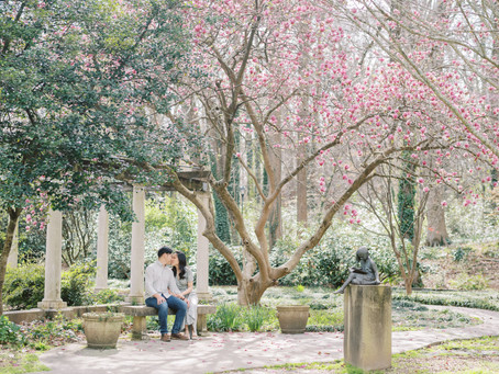 A Whimsical Cator Woolford Garden Engagement Session | Sarah & Peter | Glorious Moments Photography
