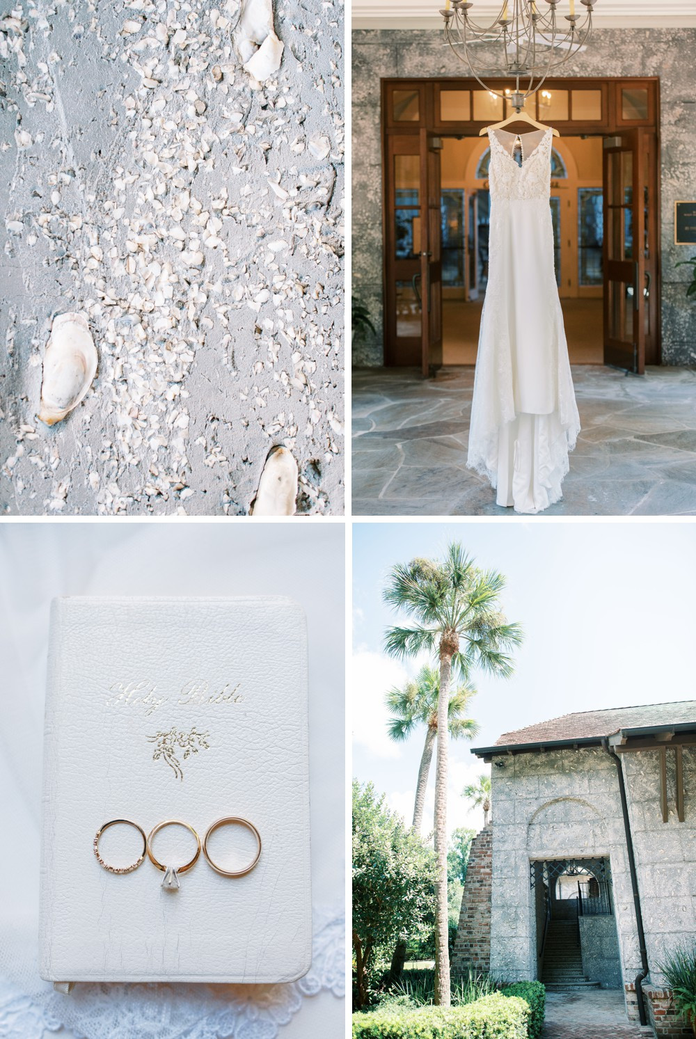 A Destination Wedding at St. Simons Island coastal details southern wedding
