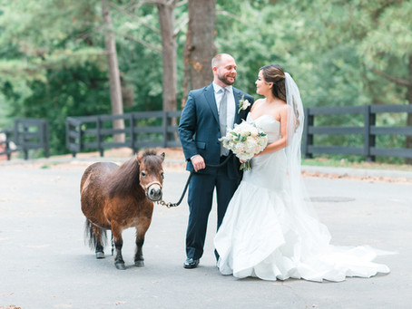 Lauren + Brian | Chastain Horse Park Weddings | Glorious Moments Photography