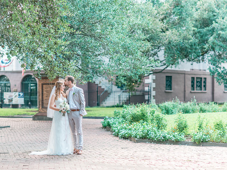 Ben+Erin | A Charming Charleston Styled Elopement | Glorious Moments Photography |
