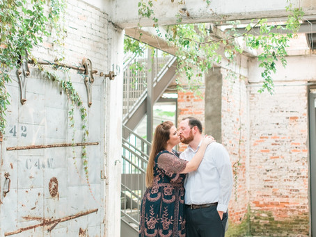 Michele + Eric | Krog St. Market Engagement Session | Glorious Moments Photography