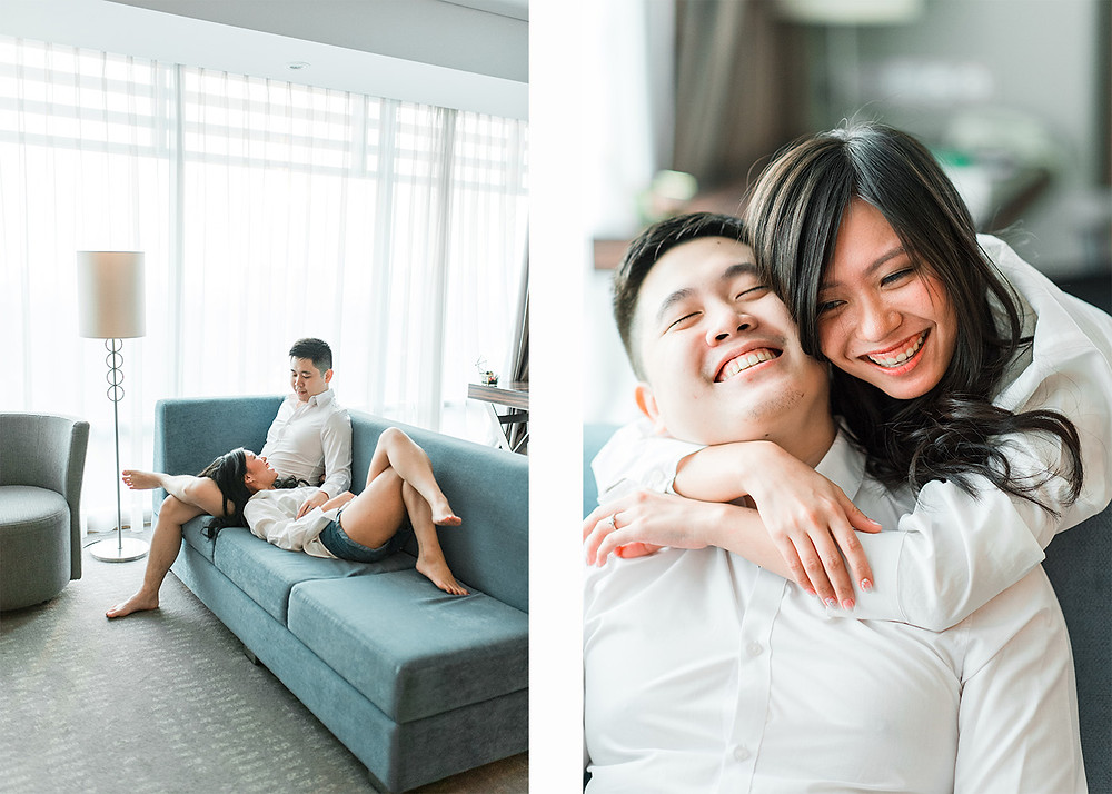 cozy-inhome-engagement session