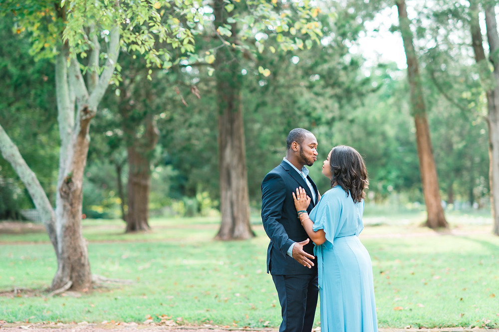 barrington hall wedding in downtown roswell georgia with african american couple