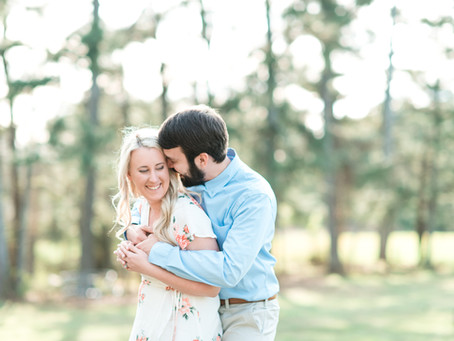 Tara + Josh | A Chic Country Engagement Session at North Georgia Farm | Glorious Moments Photography
