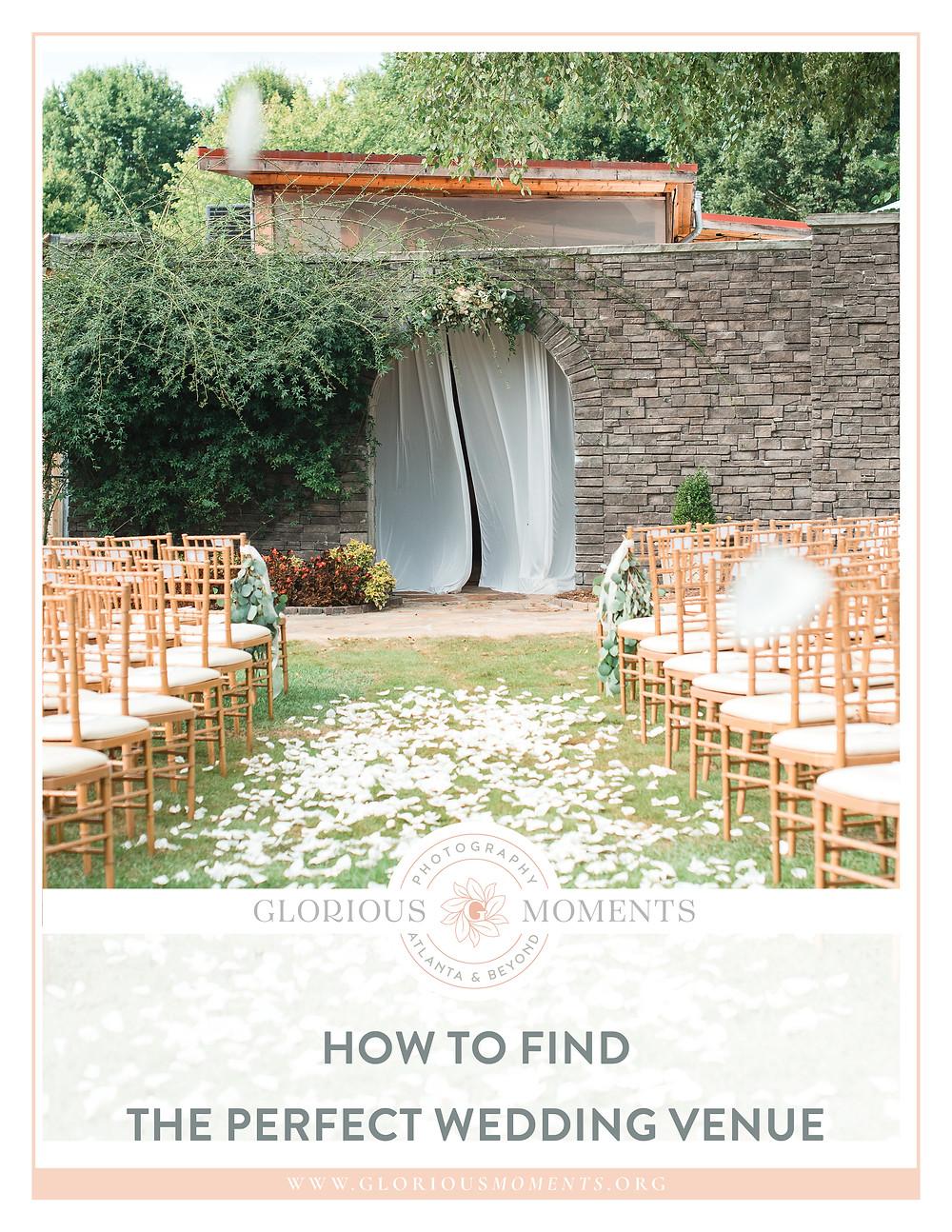 atlanta piedmont- garden-tent-how to choose the perfect wedding venue