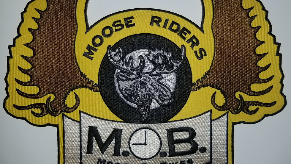 Moose on Bikes Patch