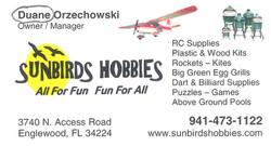 Sunbird Hobbies