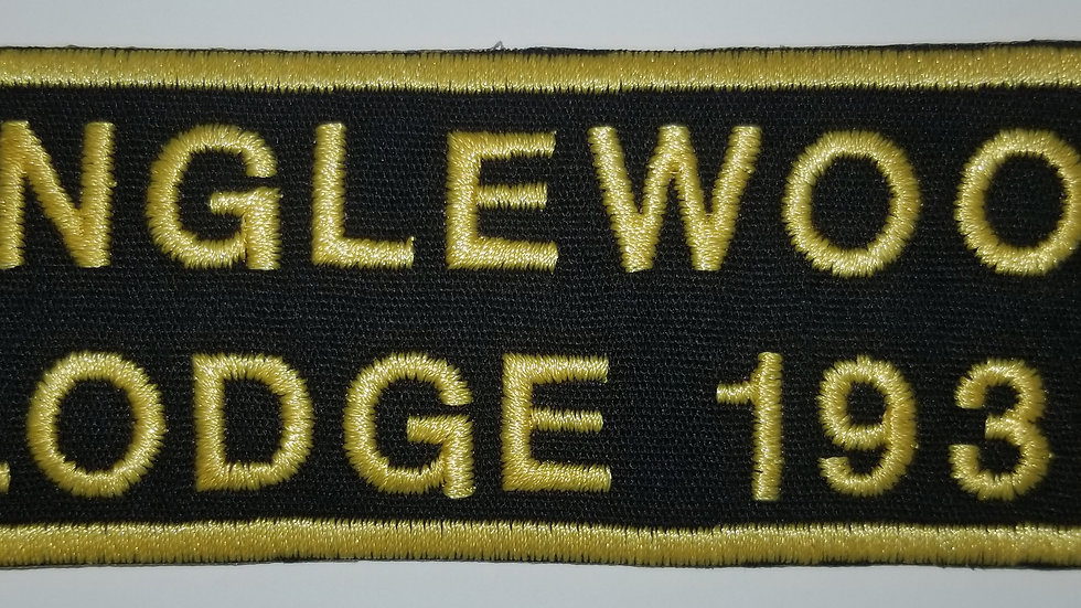 Englewood Lodge 1933 Patch