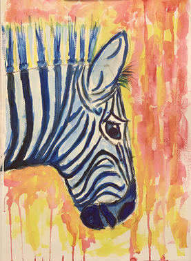 Zebra watercolor - sd7