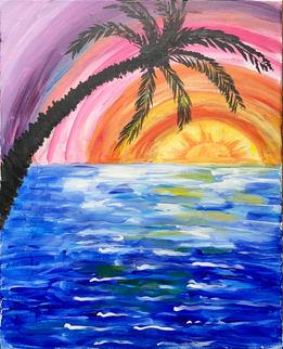Palm Sunset - K8