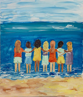 Friends at the beach - S13