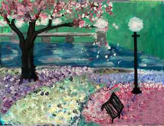 Another version of Cherry Blossom Evening